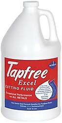 Tapfree Excel Tapfree Excel 1 Gal Bottle Cutting Tapping Fluid Synthetic F