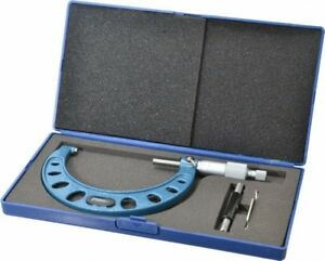 Fowler 3 To 4 Range 0 0001 Graduation Mechanical Outside Micrometer Ratch