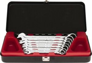 Blackhawk By Proto 8 Piece 8 To 18mm Ratcheting Box Wrench Set Metric Meas