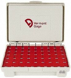 Vermont Gage 55 Piece 0 006 0 06 Inch Diameter Plug And Pin Gage Set Minus 0