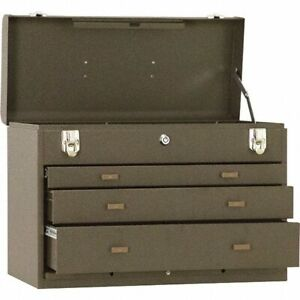 Kennedy 3 Drawer Tool Chest 20 1 Wide X 8 5 Deep X 13 6 High Brown Steel