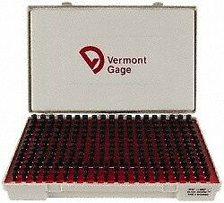 Vermont Gage 250 Piece 0 251 0 5 Inch Diameter Plug And Pin Gage Set Minus 0