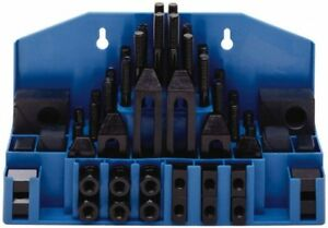 Te co 52 Piece Fixturing Step Block Clamp Set With 1 Step Block 11 16 T