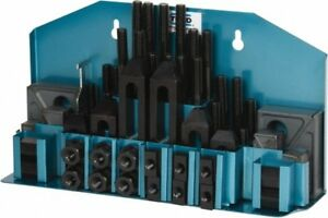 Te co 52 Piece Fixturing Step Block Clamp Set With 1 Step Block 9 16 T s