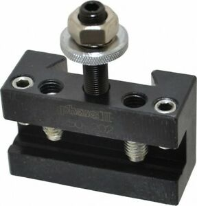 Phase Ii Series Bxa Number 2 Boring Turning Facing Tool Post Holder 1 3