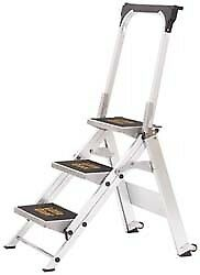 Little Giant Ladder 3 Steps 2 1 4 High Type Ia Rating Aluminum Step Ladd
