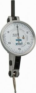 Fowler 0 06 Inch Range 0 0005 Inch Dial Graduation Horizontal Dial Test Ind