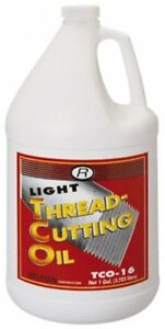 Relton Tco 16 1 Gal Bottle Tapping Fluid Straight Oil For Thread Smoothing
