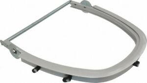 Jackson Safety Metal Face Shield Frame Silver Compatible With Hard Hats