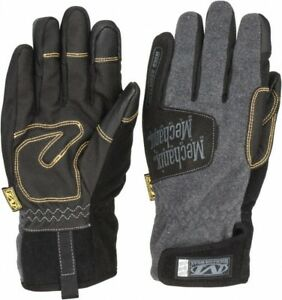 Mechanix Wear Size L 10 Rubberized Synthetic Leather Cold Protection Work