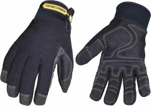 Youngstown Size L 9 Synthetic Suede Cold Protection Waterproof Work Glov