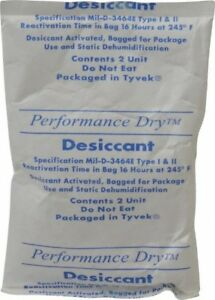 Made In Usa 2 Ounce Desiccant Packet Silica Gel