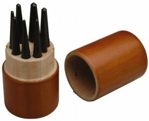 Spi 8 Piece Center Punch Set 1 16 To 7 32 Round Shank Comes In Custom Wood
