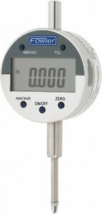 Fowler 0 To 1 Range 0 0005 Graduation Electronic Drop Indicator Inch And