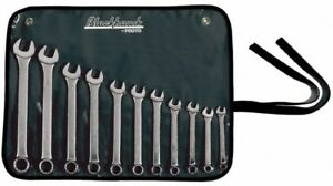 Blackhawk By Proto 11 Piece 6 To 16mm Combination Wrench Set Metric Measur