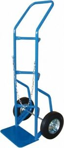 Pro source 500 Lb Capacity 48 Oah Cylinder Hand Truck 7 1 2 X 14 Base Plate