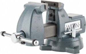 Wilton 4 Jaw Width 4 1 2 Jaw Opening Capacity 3 7 16 Throat Depth Ductil