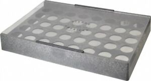Made In Usa 40 Collet Er32 Plastic Collet Rack And Tray 9 1 2 Inch Wide X 2