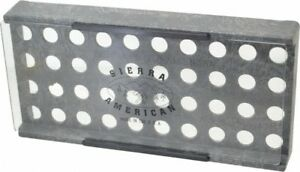 Made In Usa 40 Collet Er16 Plastic Collet Rack And Tray 5 3 8 Inch Wide X 1