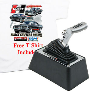 Hurst 3838530 V Matic 3 Dual Mode Ratchet Automatic Shifter W Free T Shirt