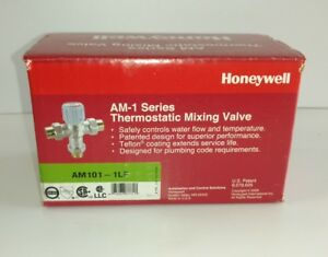 Honeywell Am 1 Series Thermostatic Mixing Valve Hvac Plumbing am101 1lf