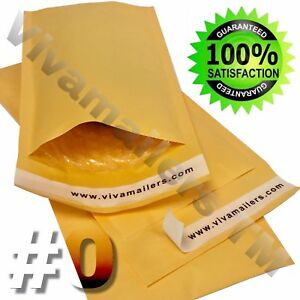 500 0 6 X 10 Kraft Paper Bubble Padded Envelopes Mailers 6 x10 Free Shipping