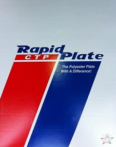 Polyester Plates Laser Plates 11 X 18 Rapid Plate