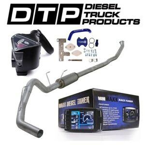 H S Mini Maxx 4 Exhaust Dpf Delete For Dodge Cummins Diesel 6 7 07 12 Egr S B