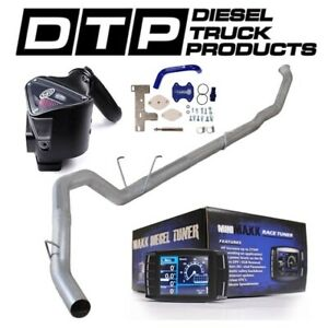 H S Mini Maxx 5 Exhaust Dpf Delete For Dodge Cummins Diesel 6 7 07 12 Egr S B