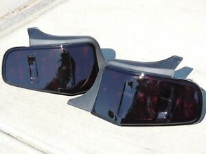 10 12 Mustang Smoked Tail Lights Oem Ford Brake Lamps Custom Painted
