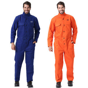 Ap 8200 Fire Resistant Cotton Arc Welding Protective Coverall Clothing Suit