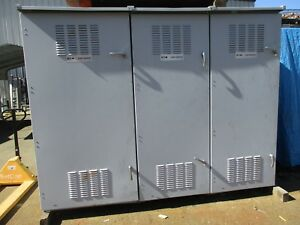 Cutler Hammer 1200a 480x120 208v Nema 3r Temporary Power Substation E2065