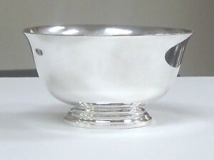 Small Vintage Estate Georg Jensen Sterling Silver Revere Bowl 387