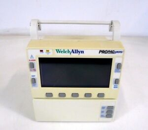 Welch Allyn Propaq Encore 206 El Patient Monitor Medical