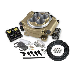 Sniper By Holley Fuel Injection System Kit 550 516k 650hp Self tuning Tbi Gold