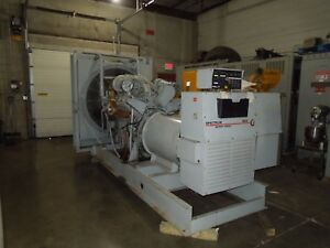 Spectrum Detroit Diesel 800ds60 825kw 1031kva 3ph 277 480v Generator 298 6 Hours