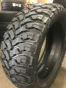 4 New 33x12 50r20 Comforser Cf3000 Mud Tire M t Mt 33125020 R20 1250 33 12 50 20