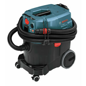 Bosch Vac090ah 9 gal Dust Extractor With Auto Filter Clean And Hepa Filter New