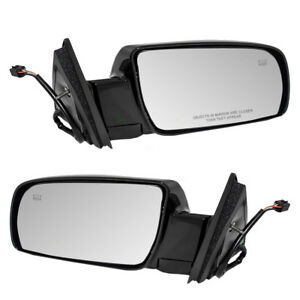 Cadillac Suv Chevy Gmc Pickup Truck Set Of Side View Power Mirrors Heated