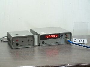 Racal Dana 9912 Frequency Counter Frequency Meter 100mhz 9932 Interface J989