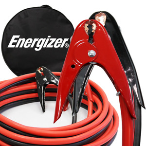 Heavy Duty Energizer 2 Gauge 800a Jumper Battery Cables Booster Jump Start Tool