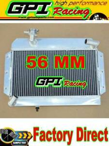Aluminum Alloy Radiator For Rover Mg Mga 1500 1600 1622 De Luxe 1955 1962 56
