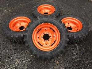 4 New Camso 10 16 5 Skid Steer Tires wheels rims fits Bobcat 642 643 10x16 5