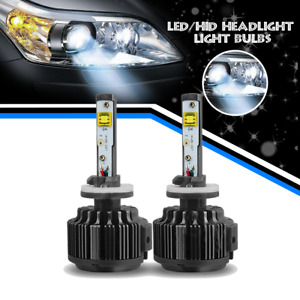 1 Pair Led Fog Light Drving Light Bulb 6000k 880 Super White
