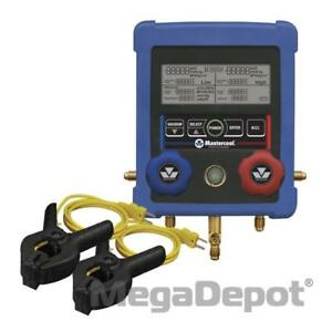 Mastercool 99103 a 2 2 way Digital Manifold And 2 Clamp on Thermocouples