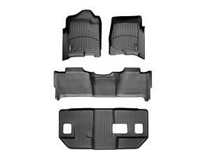 Weathertech Floorliner For Suburban Yukon Xl W Bench Seats 1st 2nd 3rd Black
