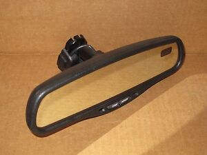 2005 Nissan Xterra Rear View Mirror Oem Factory Compass Temp