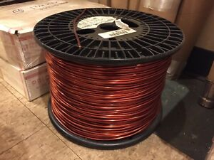 10 Lbs 200 Ft 8 Awg Copper Magnet Wire Enamel Coated 0 132 Diameter Coil