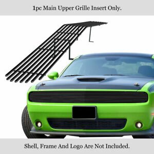 Fits 2015 2021 Dodge Challenger Phantom Black Billet Grille Insert