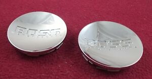 Boss Motorsports Wheels Chrome Custom Wheel Center Caps Set Of 2 3209